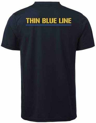 Funktions T-shirt  marinblå DAM
