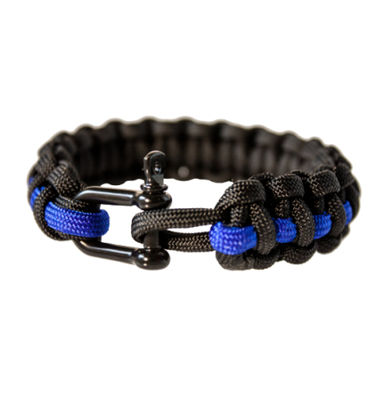Armband paracord med schackel